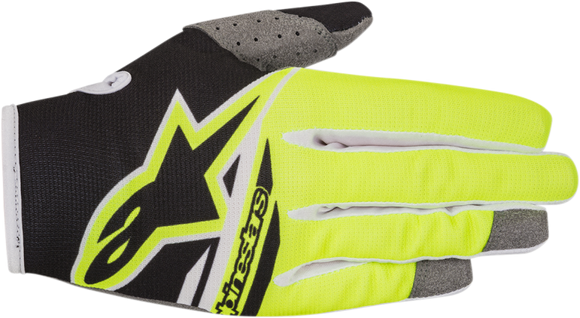 Alpinestars Radar Flight Glove BK/YL - Motoboats us