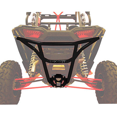 DRAGONFIRE Smash Rear Bumper - Black POLARIS - Motoboats us