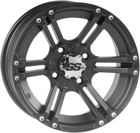 ITP SS ALLOY WHEELS BLACK - Motoboats us