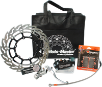 MOTOMASTER BRAKES SUPERMOTO RACING KIT for Husaberg, Ktm and Husqvarna.