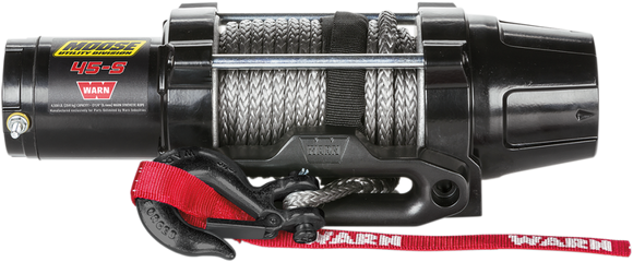 MOOSE WINCH 4500LB W/SYN RP MSE - Motoboats us