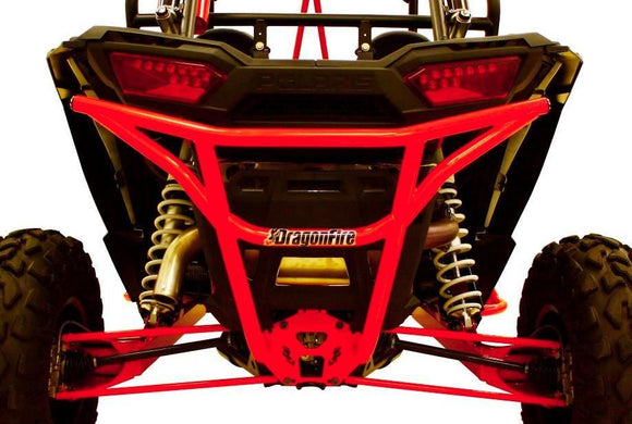 DRAGONFIRE Smash Rear Bumper - Red  POLARIS RZR 1000 - Motoboats us