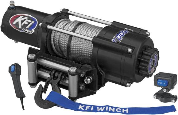 U4500w ATV Series Winch (Wide) - Motoboats us