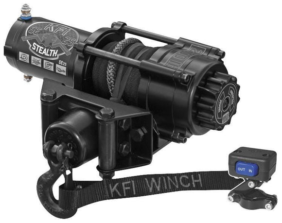 SE25 Stealth Series Winch - Motoboats us