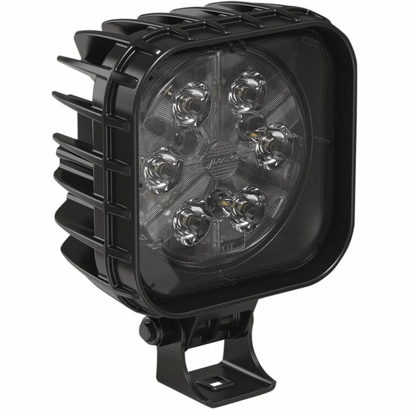 MOOSE Square LED Auxiliary Lights - 4in. Spot Beam Pattern - Motoboats us