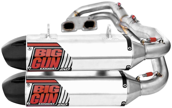 BIG GUN EXO Series Dual Full System POLARIS RZR 900