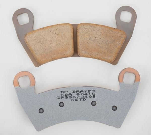 DP BRAKES Standard Sintered Metal Brake Pads POLARIS RZR TURBO