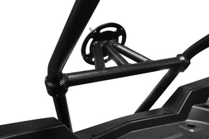 DRAGONFIRE RacePace Backbone Mount Spare Tire Carrier - Black POLARIS RZR 800,900 - Motoboats us