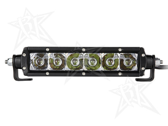 RIGID SR-Series Spot Light Bar - 6in. - Clear - Motoboats us