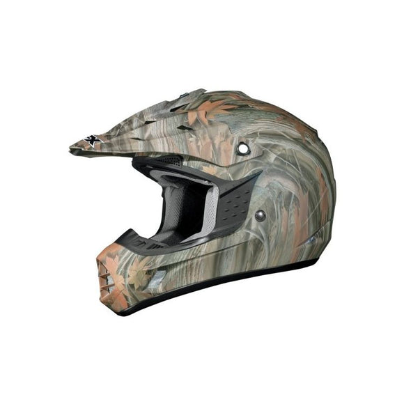 AFX Youth FX-17Y Wood Camo Helmet - Motoboats us
