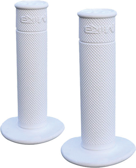 MIKA METALS 50/50 WAFFLE GRIPS (ALPINE WHITE)