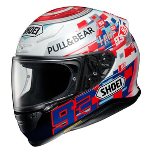 Shoei RF-1200 Marquez Power Up Helmet - Motoboats us
