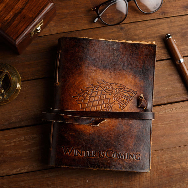 Game of Thrones Leather Journal