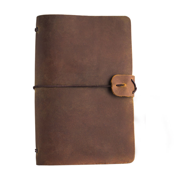 Voyager Refillable Leather Journal
