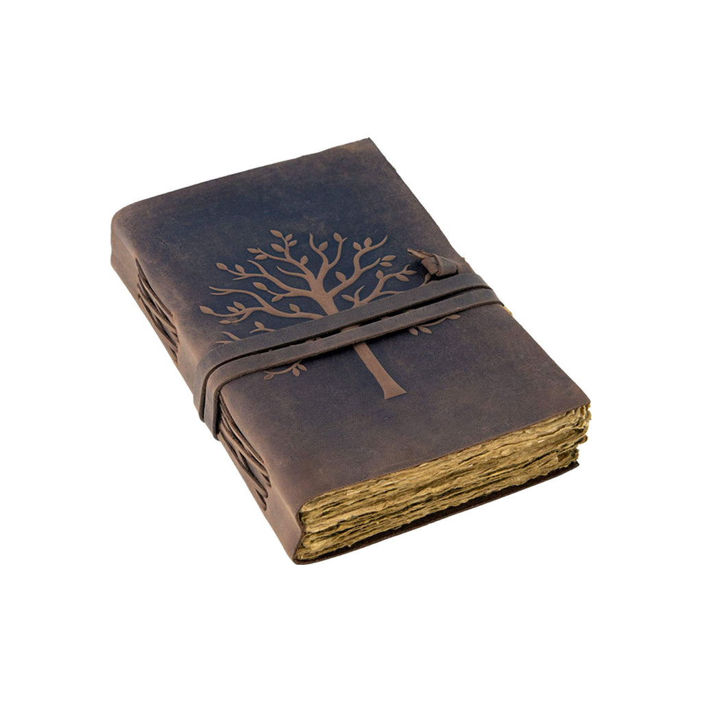 Tree Vintage Journal - 7 by 5 Inches - 1 Pack