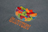 Gluttony Tee - Iron Blue