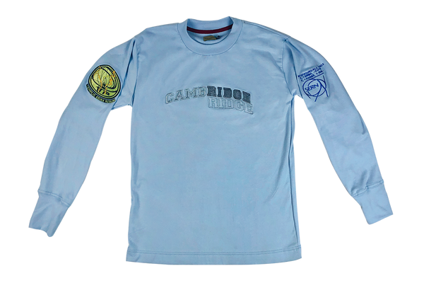 john titor long sleeve - sky blue