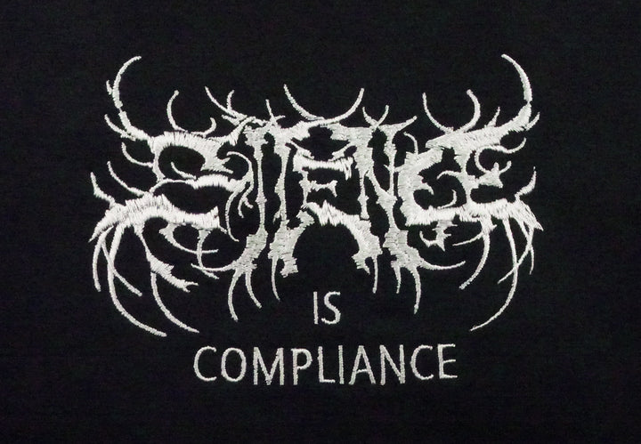 'SILENCE IS COMPLIANCE' BENEFIT TEE