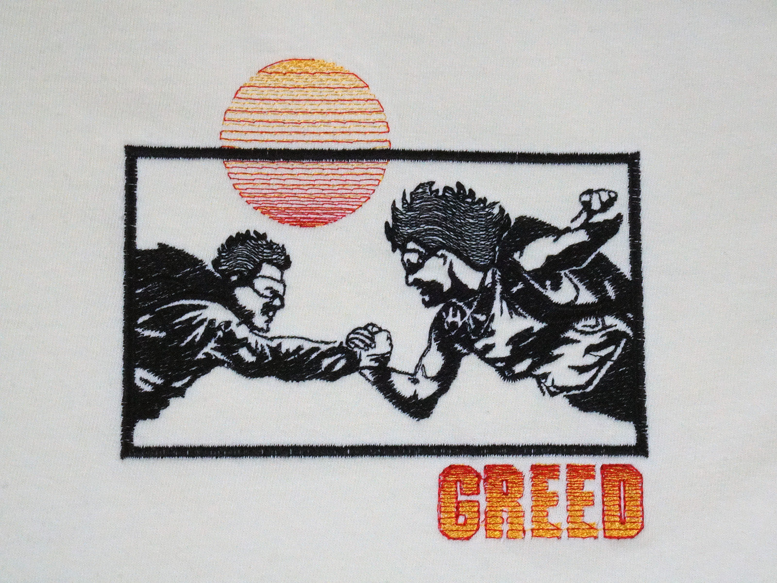 Greed Tee - Yellow
