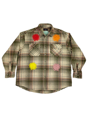 plaid flannel | M/L