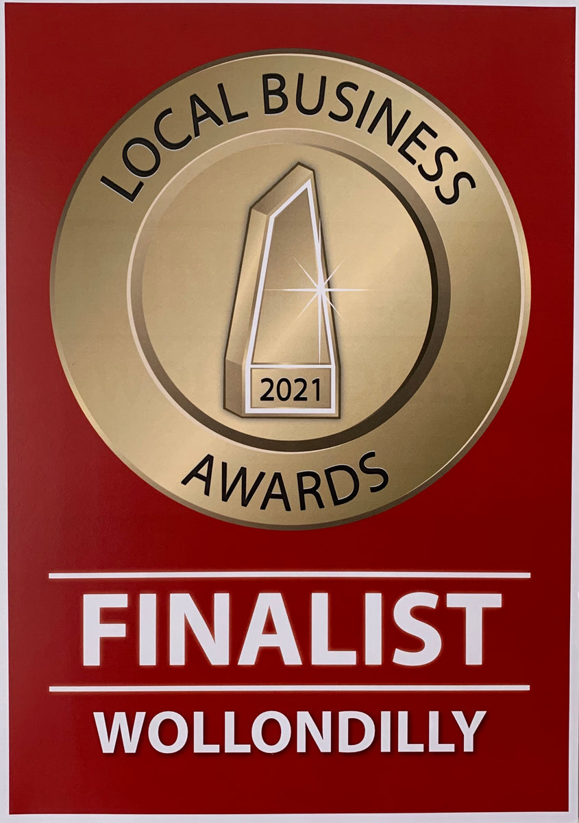 Local business award finalist