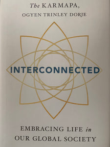 book: pre-loved Interconnected Karmapa front cover