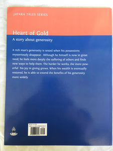 Jataka Tales Series: Heart of Gold back cover