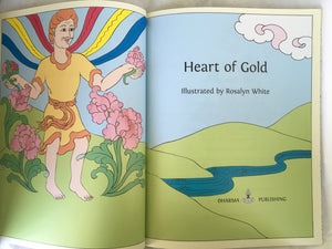 Jataka Tales Series: Heart of Gold title page
