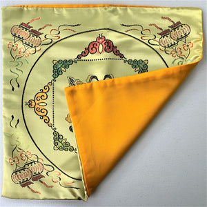 Cushion cover golden fish back