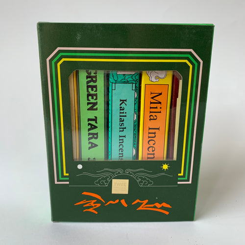 Incense Tibetan Green Tara gift pack front