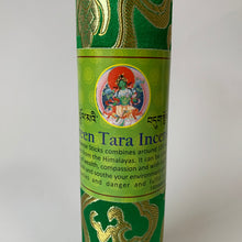 Load image into Gallery viewer, Incense Tibetan Incense: Green Tara Incense - Round close up