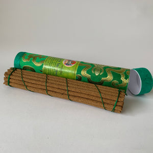 Incense Tibetan Incense: Green Tara Incense - Round example long