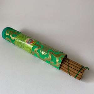 Incense Tibetan Incense: Green Tara Incense - Round long example