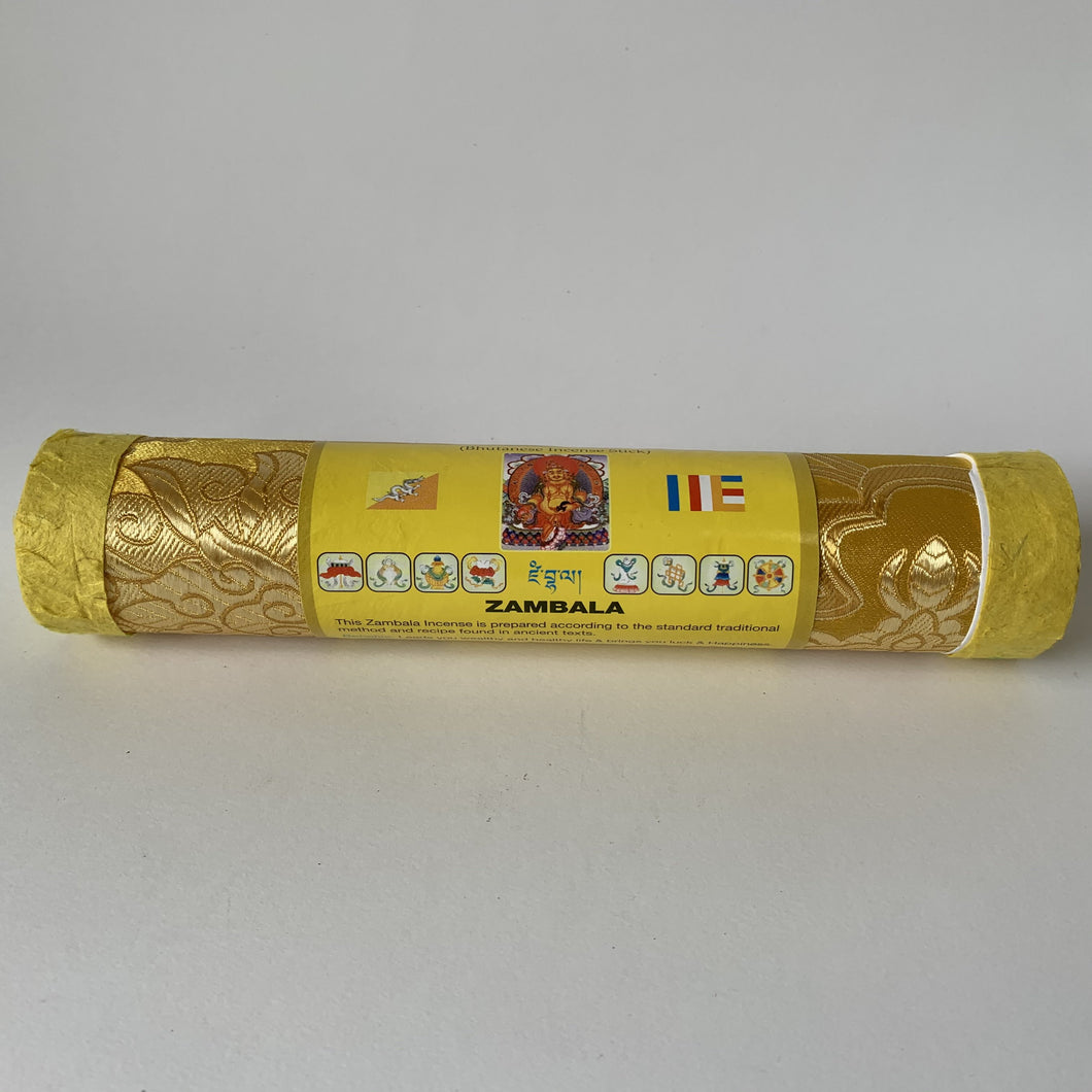 Incense Bhutanese Incense: Zambala Incense - Round front