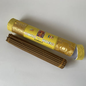 Incense Bhutanese Incense: Zambala Incense - Round open example