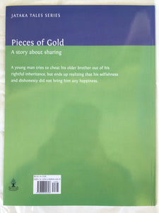 Jataka Tales Series: Pieces of Gold back cover