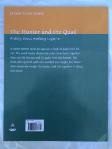 Jataka Tales Series: The Hunter and the Quail back cover