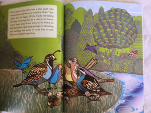 Jataka Tales Series: The Hunter and the Quail first page