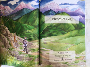 Jataka Tales Series: Pieces of Gold title page