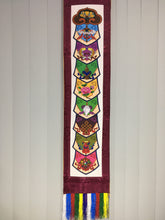 Load image into Gallery viewer, Plum Brocade Eight Auspicious Symbol Wall Hanging scale