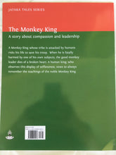 Load image into Gallery viewer, Jataka Tales Series: The Monkey King back cover