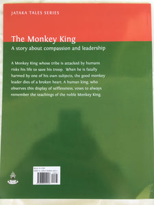 Jataka Tales Series: The Monkey King back cover