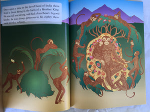 Jataka Tales Series: The Monkey King page 1