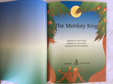 Load image into Gallery viewer, Jataka Tales Series: The Monkey King title page