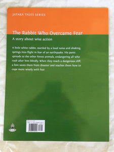 Children's Story Book: The Rabbit Who Overcame Fear - Back cover