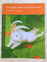 Load image into Gallery viewer, Children's Story Book: The Rabbit Who Overcame Fear - Front Cover
