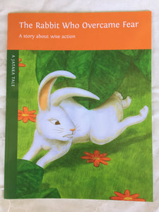 Children's Story Book: The Rabbit Who Overcame Fear - Front Cover