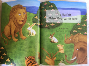 Children's Story Book: The Rabbit Who Overcame Fear - Title page