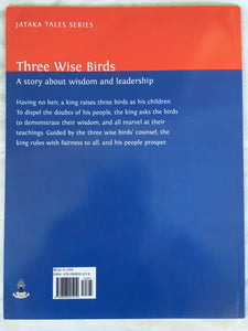 Children's Story Book: Three Wise Birds - backcover
