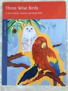 Children's Story Book: Three Wise Birds - front cover